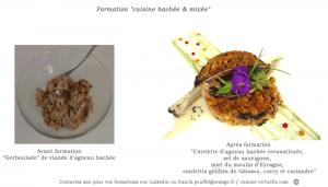 Formation cuisine hachee et mixee F.Pouffet linkedin